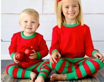 Christmas Pajamas, Family Christmas Pajamas, Family Pajamas, Girls Christmas Pajamas, Kids Christmas PJs, Family Christmas PJs, Xmas Pajamas