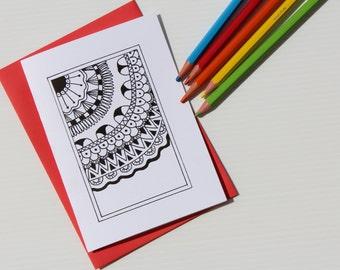handdrawn happy birthday card  crafthubs, Birthday card