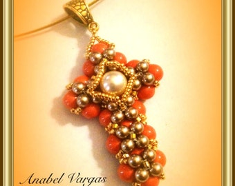 BEADING TUTORIAL PENDANT (spanish)