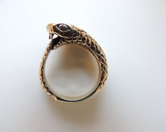 Ouroburos ring (can be a pendant too)