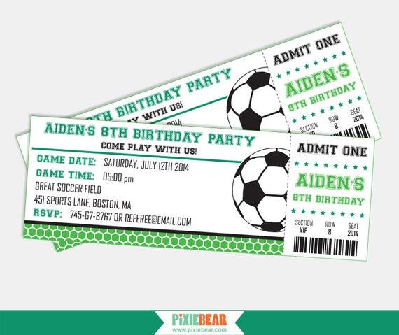 Birthday Invitation Free Soccer  OrderecigsjuiceInfo