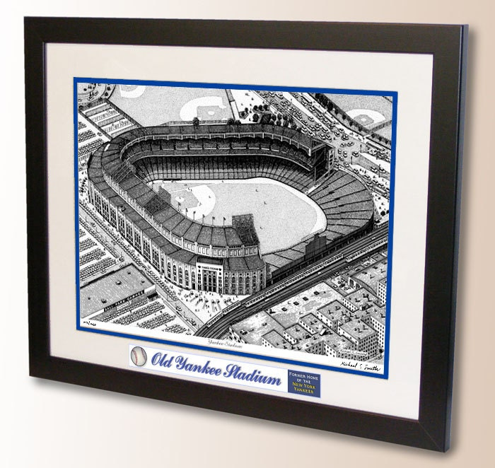 Old Yankee Stadium 1950 S Art Former Home Of The New York
