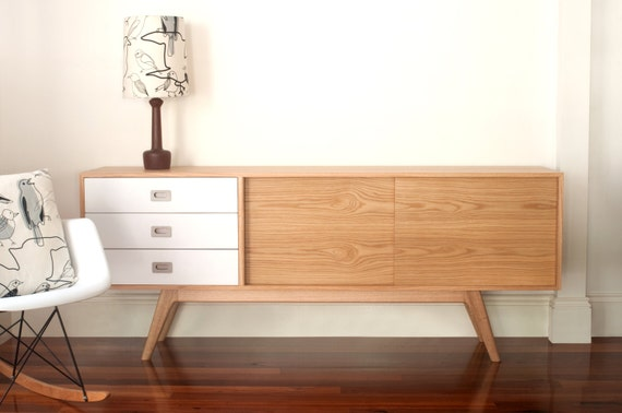 C180 Sideboard Classic Sideboard Oak Entertainmnet By Senkki