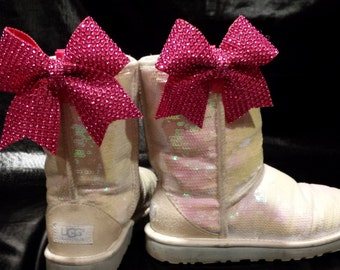 Uggs With Bows Etsy