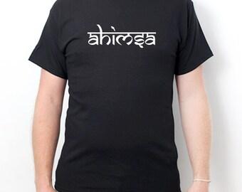 Ahimsa T-shirt Peace Jain Dharma Non-Violence Tee Shirt