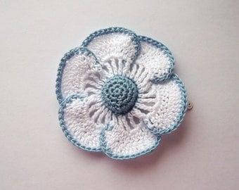 flower hair clip,daisy flower hair clip,daisy, girls hair, girls hair clip