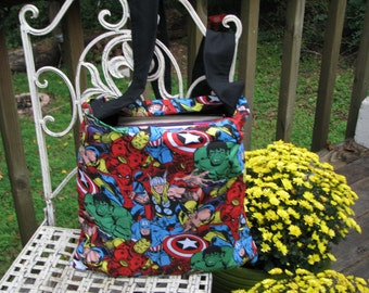 Marvel Comics Bag, Marvel Comics Tote, Marvel Comics