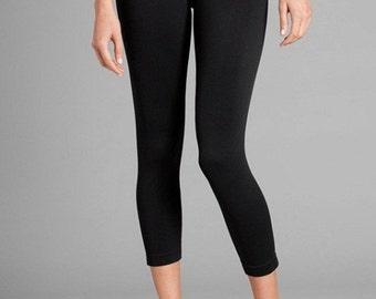 Black Capri Leggings Black Leggings