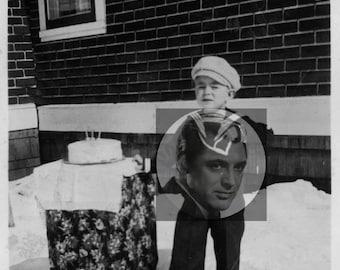 Funny Vintage Happy Birthday Magnet
