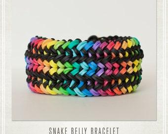 Rainbow Loom Bracelet Snake Belly