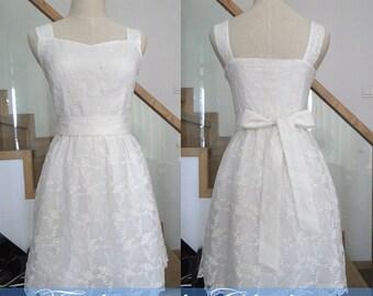 white dress spring dress summer dress women dress clothing long dress beach dress lace dress sweet bowknot dress party dress slim fit