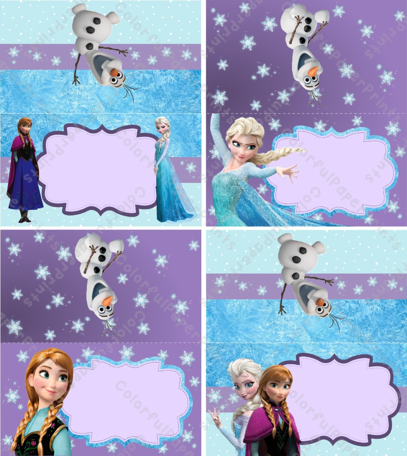 It's just a graphic of Impertinent Frozen Printable Labels