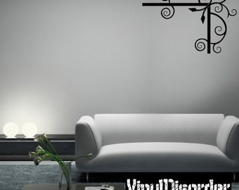 Corner Frame Vinyl Wall Decal Or Car Sticker - Mv003ET