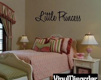 Little Princess Princess Vinyl Wall Decal Or Car Sticker - Mv012ET