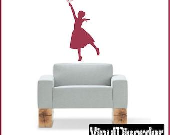 Princess Balarina Vinyl Wall Decal or Car Sticker - balarinast001ET