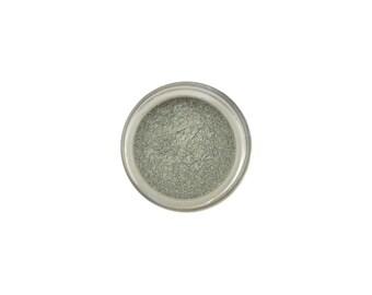 Laurel SAMPLE eyeshadow - a silvered green