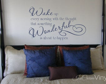 Quote Decal Wake Up Every Morning Decal