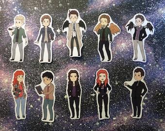 Supernatural Stickers set
