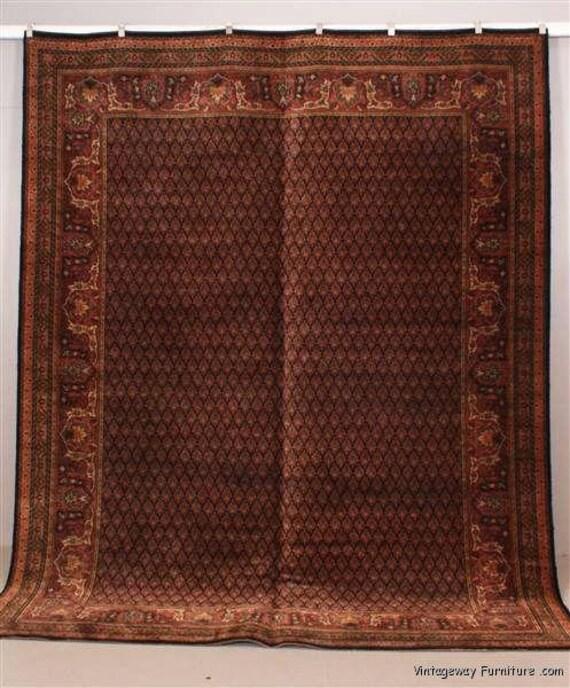 6156: Antique KARASTAN SAROUK Floor Room Size Rug 9' X