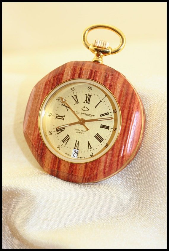 pocket wood wooden pocket watches for