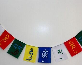 Tibetan Prayer Flags / Om mani pad me hum / mani