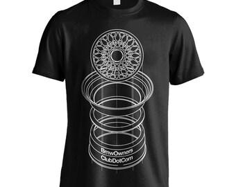 BMW BBS Alloy Men's Car T-Shirt