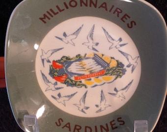 Figgjo Millionnaires Sardines Plate Norway