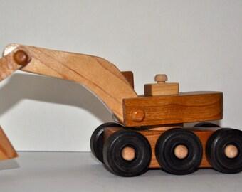 Hardwood Toy Construction Shovel