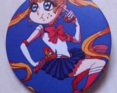 Usagi button - Sailor Moon