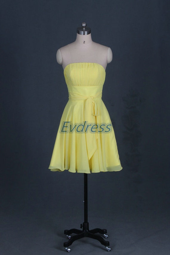 Yellow Prom Dresses 2016 Cheap 43