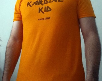 Cleveland Browns Kardiac Kid in Heavy Metal Font Shirt