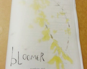 Bloomer zine, #1