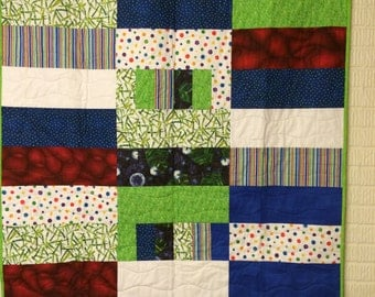 Bright Bold Rectangles Quilt