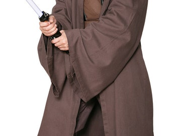 Star Wars Jedi Knight Jedi Robe ONLY - Dark Brown - Replica Star Wars Costume - JR 1370