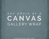 Canvas Gallery Wrap, Canvas Art, Landscape Photography, Nature Photos, Country Home Decor, Nursery Wall Decor, Large Wall Art, Canvas