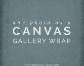 Canvas Gallery Wrap, Canvas Art, Landscape Photography, Nature Photos, Country Home Decor, Nursery Wall Decor, Large Wall Art, Canvas