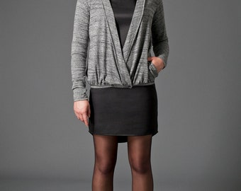 Crossover cardigan - was 150CAD - Style: V01AH14