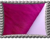 Magenta Dupioni Silk Fabric By The Yard, Bridesmaid Gown Fabric, Curtain Fabric, Pink Indian Silk Fabric, Wholesale Indian Fabric Stores