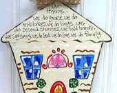 Our Home Door Hanger - Bronwyn Hanahan Art