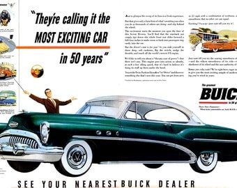 1953 buick etsy for Garage ad agde