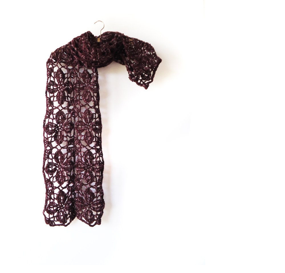 unique handmade scarves crochet scarf by