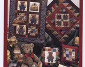 Honeybees - Teddy Bear & Bee Skep Themed Quilts and Ornaments Pattern