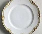 Haviland Limoges China, Dinner Plates, Clover Leaf