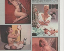MATURE - 1972 20 Years of Playmates Playboy Pictorial Nude Celebrity Bunny Bunnies 70s Sexy Wall Art Decor