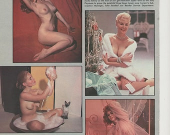 1960s And 70s Mature Glamour Models