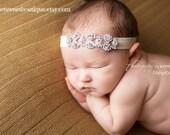 Baby Bling Rhinestone Headband Baby Rhinestone Headband Sweet Channing Rhinestone Headband Vintage Newborn Photo Prop