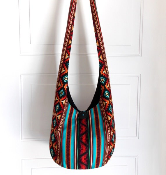 made to order hobo bag hippie purse crossbody bag by
