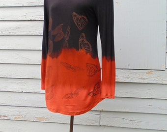 Dipped Dyed Falling Wing Long Sleeve Shirt