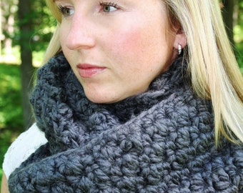 Crochet INFINITY SCARF PATTERN Instant Download Digital Download