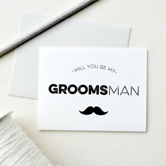 12 Groomsman Cards.  Will you be my Groomsman? Will you be my Best Man?